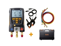 Testo 550 - Set cu manifold digital și 3 furtunuri