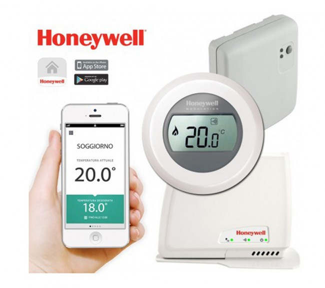 Round Thermostat Honeywell